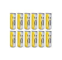 Nurixo Energy Drink with Lemon and Peppermint Flavor 12 shelf packaging