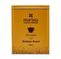 پودر قهوه بوداده ملایم عربیکا نوریکسو ۲۰۰ گرمی