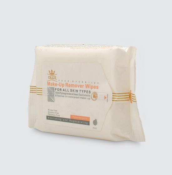 دستمال مرطوب پاککننده آرایش دایلکس 20 عددی